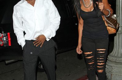 Hot Shots: Brandy & Ray J Party In West Hollywood