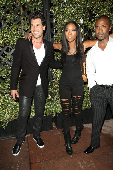 brandy4 Hot Shots: Brandy & Ray J Party In West Hollywood
