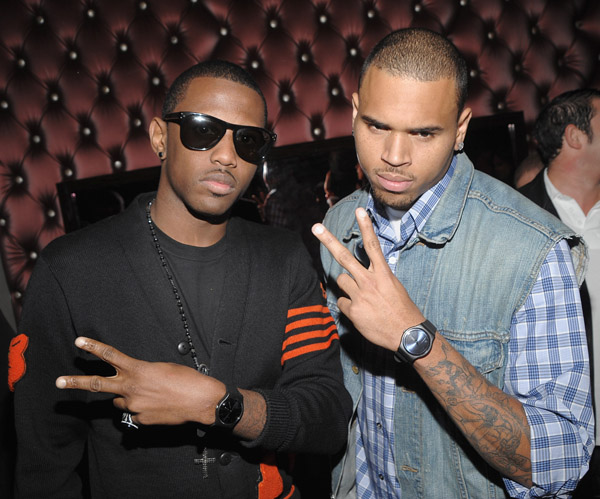 chrisbrown3 Hot Shots: Chris Brown Parties In New York