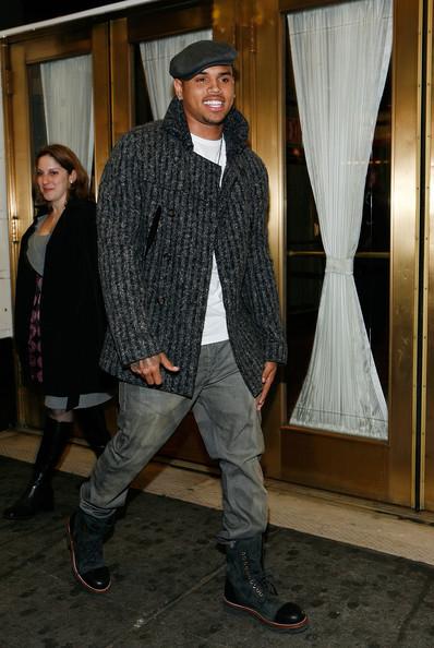 chrisbrown9 Hot Shot: Chris Brown Heads To Broadway