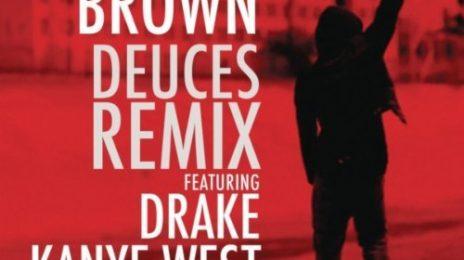Chris Brown Reveals 'Deuces (Remix)' Cover