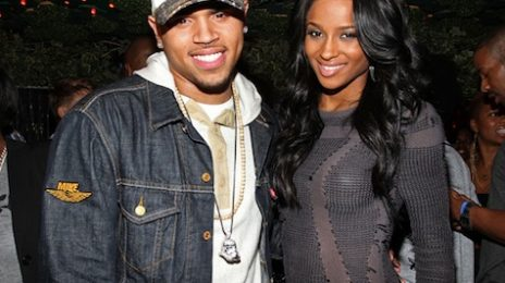 Hot Shot: Chris Brown Helps Ciara Celebrate Her Birthday