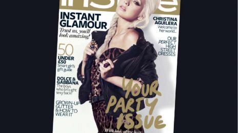 Christina Aguilera Covers InStyle