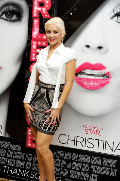 christinaaguilerapress Hot Shots: Christina Aguilera Promotes Burlesque