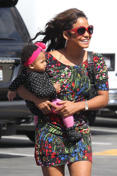 christinamilian Hot Shots: Christina Milian & Her Baby Spotted In LA