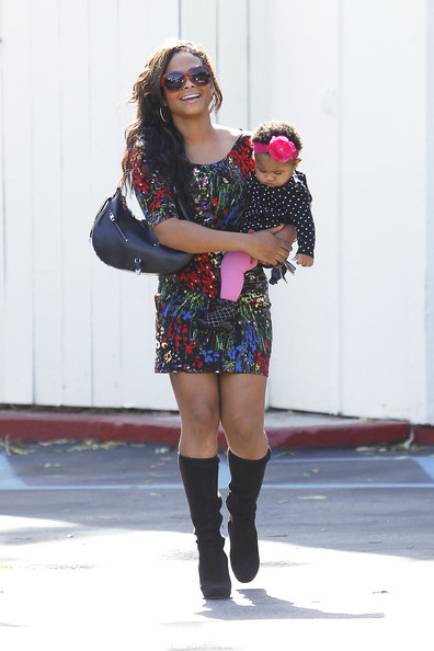 christinamilian2 Hot Shots: Christina Milian & Her Baby Spotted In LA