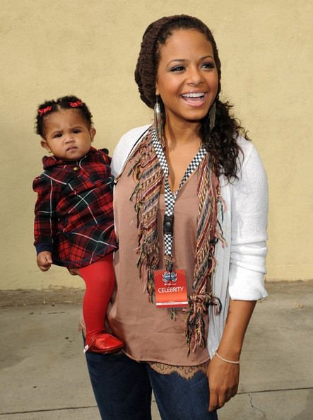 christinamilian31 Hot Shots: Christina Milian & Her Baby In LA