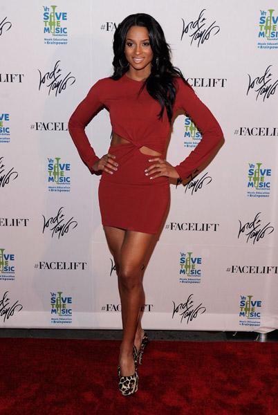 ciara 453a Hot Shots: Ciara At VH1 Save The Music Benefit Bash