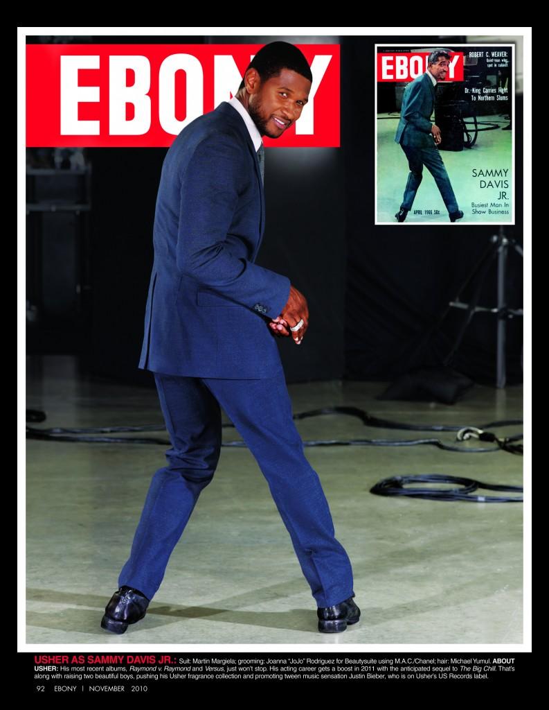 ebony Hot Shots: Usher & John Legend Celebrate Ebony Magazines 65th Year