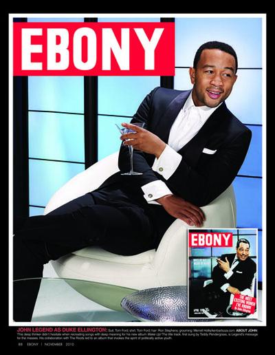 ebony2 Hot Shots: Usher & John Legend Celebrate Ebony Magazines 65th Year