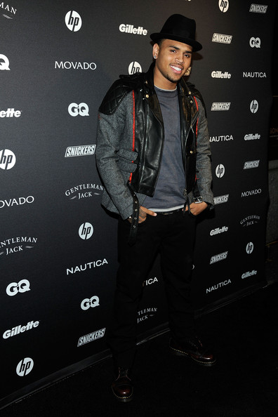 gqparty Hot Shots: Chris Brown, Trey Songz & Others Attend GQ's Gentlemen's Ball