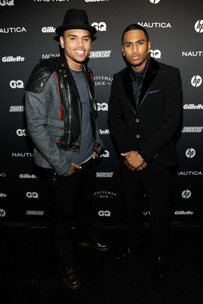 gqparty2 Hot Shots: Chris Brown, Trey Songz & Others Attend GQ's Gentlemen's Ball