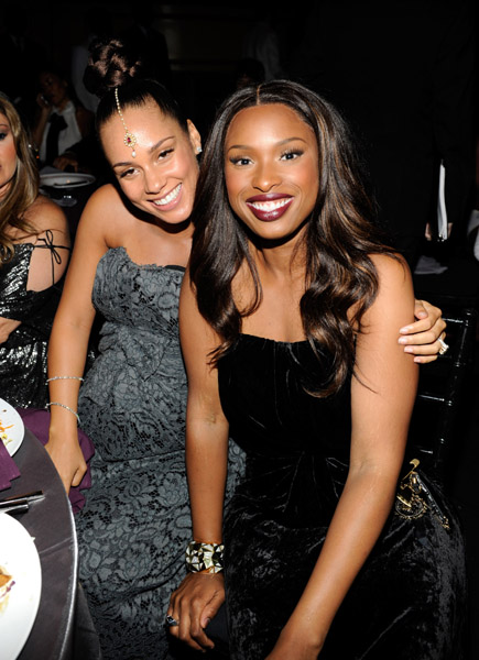 j a1 Hot Shots: Whitney, Beyonce, Alicia, Jennifer Hudson, & More At Keep A Child Alive Ball