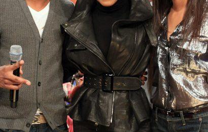 Janet Jackson Visits BET's 106 & Park