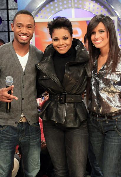 janet 106 Janet Jackson Visits BETs 106 & Park