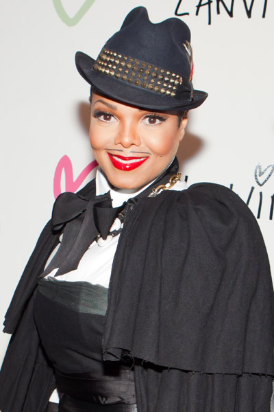 janet 23 Hot Shots: Janet Jackson At Lanvin Halloween Party
