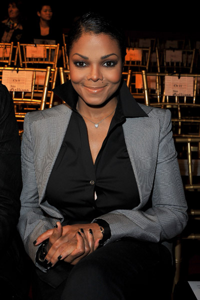 janet 45 Hot Shots: Janet & Wissam At John Galiano Show