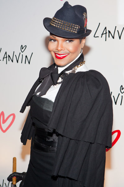 janet 54 Hot Shots: Janet Jackson At Lanvin Halloween Party