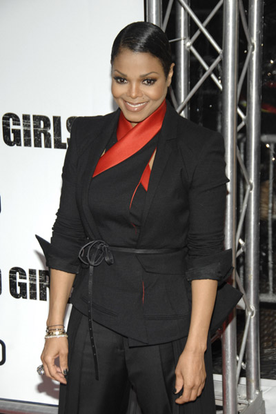 janet fcg 4 Hot Shots: Janet Jackson At For Colored Girls Première