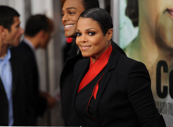 janet fcg3 Hot Shots: Janet Jackson At For Colored Girls Première