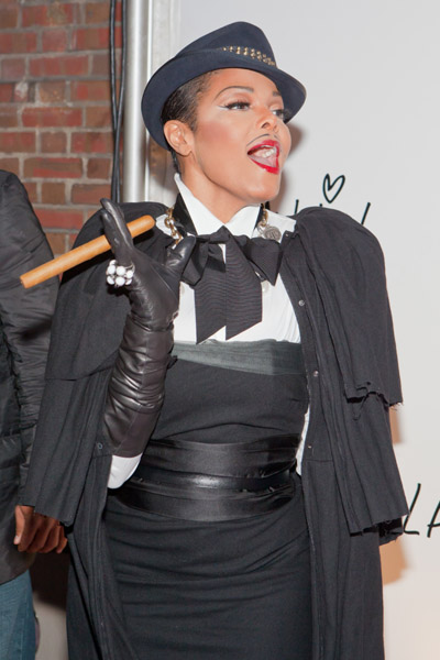 janet halloween Hot Shots: Janet Jackson At Lanvin Halloween Party
