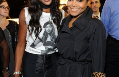Hot Shots: Janet Jackson & Naomi Campbell Pose In Paris