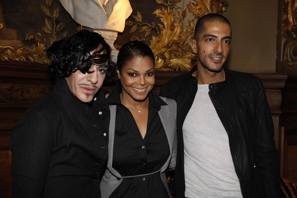 janet wissam 33 Hot Shots: Janet & Wissam At John Galiano Show