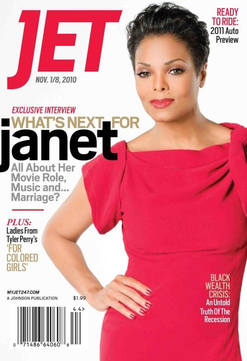 janet Hot Shot: Janet Jackson Covers JET Magazine
