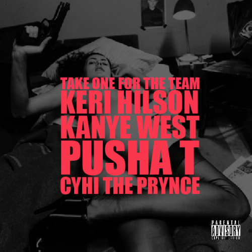 kanye friday e1287230703452 New Song: Kanye West   Take One For The Team (ft. Keri Hilson, Pusha T & Cyhi the Prynce)