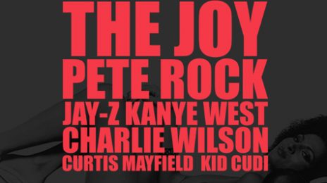 New Song: Kanye West - 'The Joy (ft. Pete Rock, Jay-Z, Charlie Wilson, Curtis Mayfield & Kid Kudi)'
