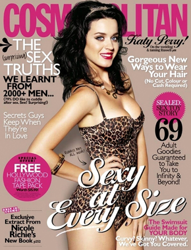 katyperrycosmo Hot Shot: Katy Perry Covers Cosmopolitan Australia