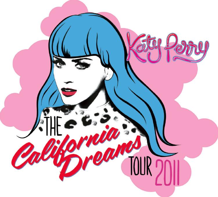 katyperrytour Katy Perry Announces 2011 California Dreams World Tour