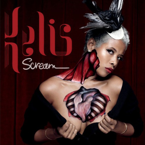 kelis scream e1286703823976 Kelis Gets Raw On Scream Cover