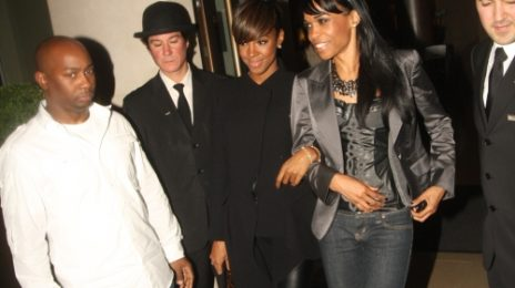 Hot Shots: Kelly Rowland & Michelle Williams In London