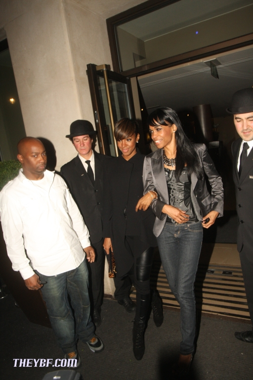 kelly mich Hot Shots: Kelly Rowland & Michelle Williams In London