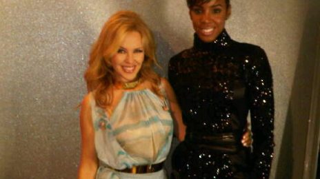 Hot Shot: Kelly Rowland With Kylie Minogue