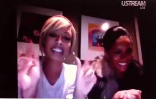 keri ciara e1287475800164 Video: Keri Hilson & Ciara Squash Beef
