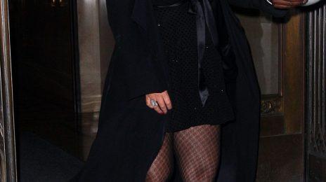 Hot Shots: Mariah Carey Celebrates Nick Cannon's Birthday In NYC