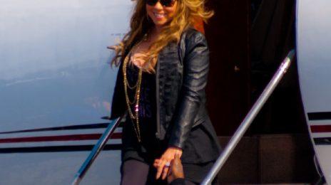 Hot Shots: Mariah Carey Arrives In Florida