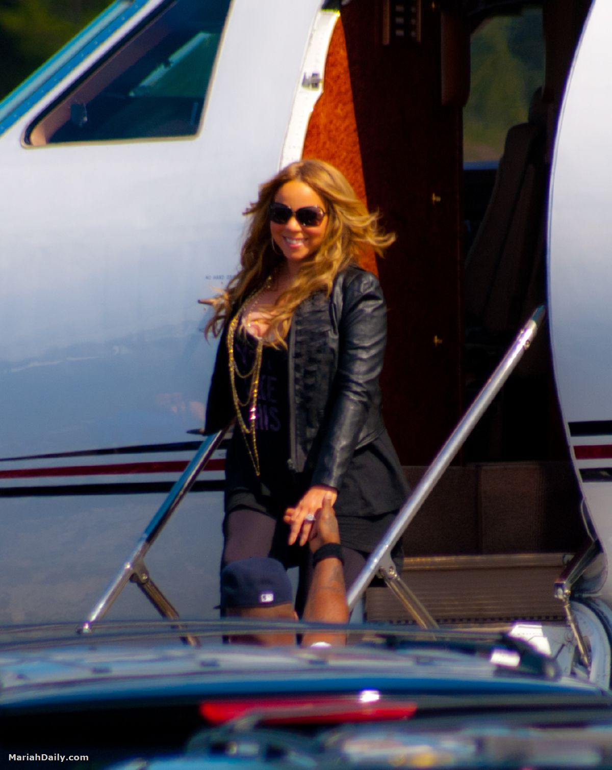 mariah10 Hot Shots: Mariah Carey Arrives In Florida