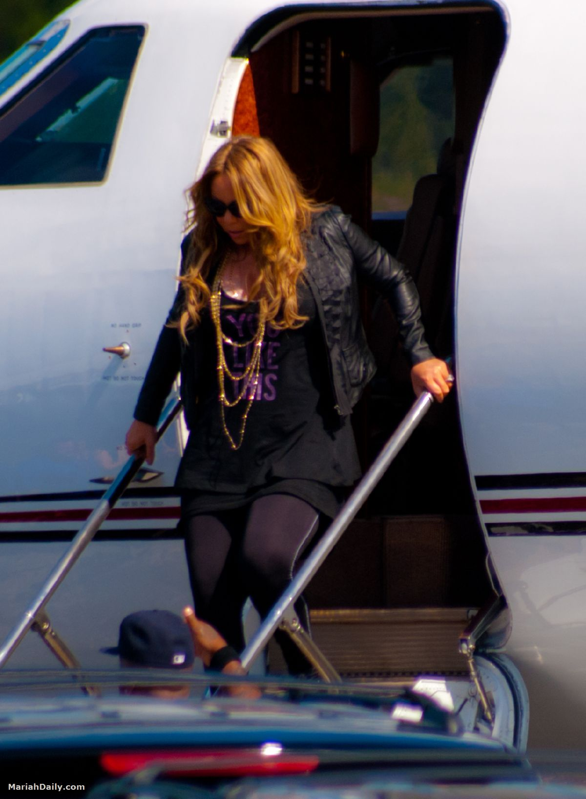 mariah21 Hot Shots: Mariah Carey Arrives In Florida