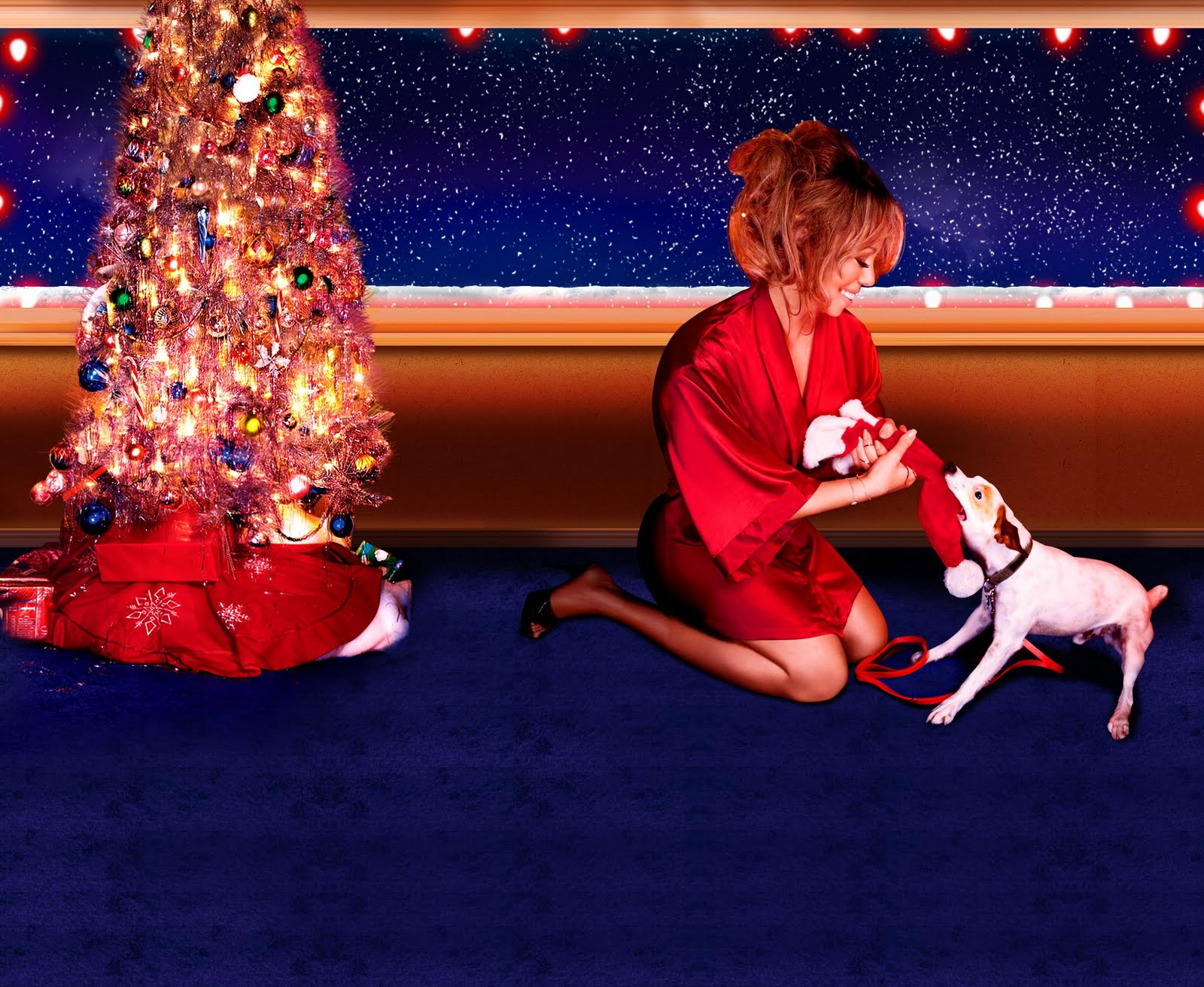 mariah22 Hot Shots: Mariah Carey Glows In New Desktop Wallpapers
