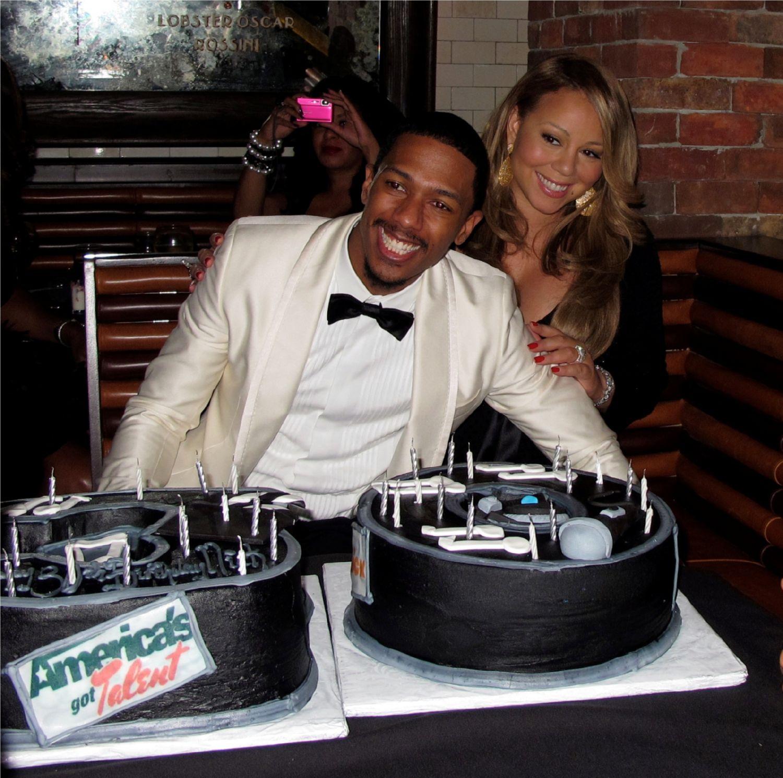 mariah4 Hot Shots: Mariah Carey Celebrates Nick Cannons Birthday In NYC