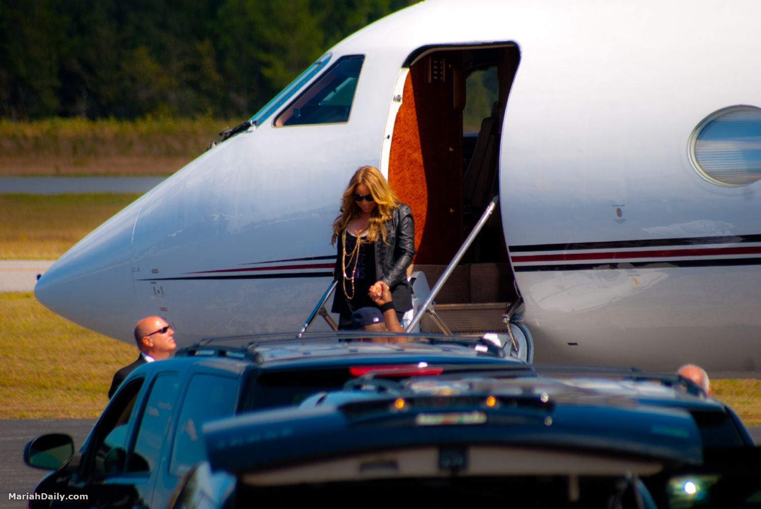 mariah41 Hot Shots: Mariah Carey Arrives In Florida