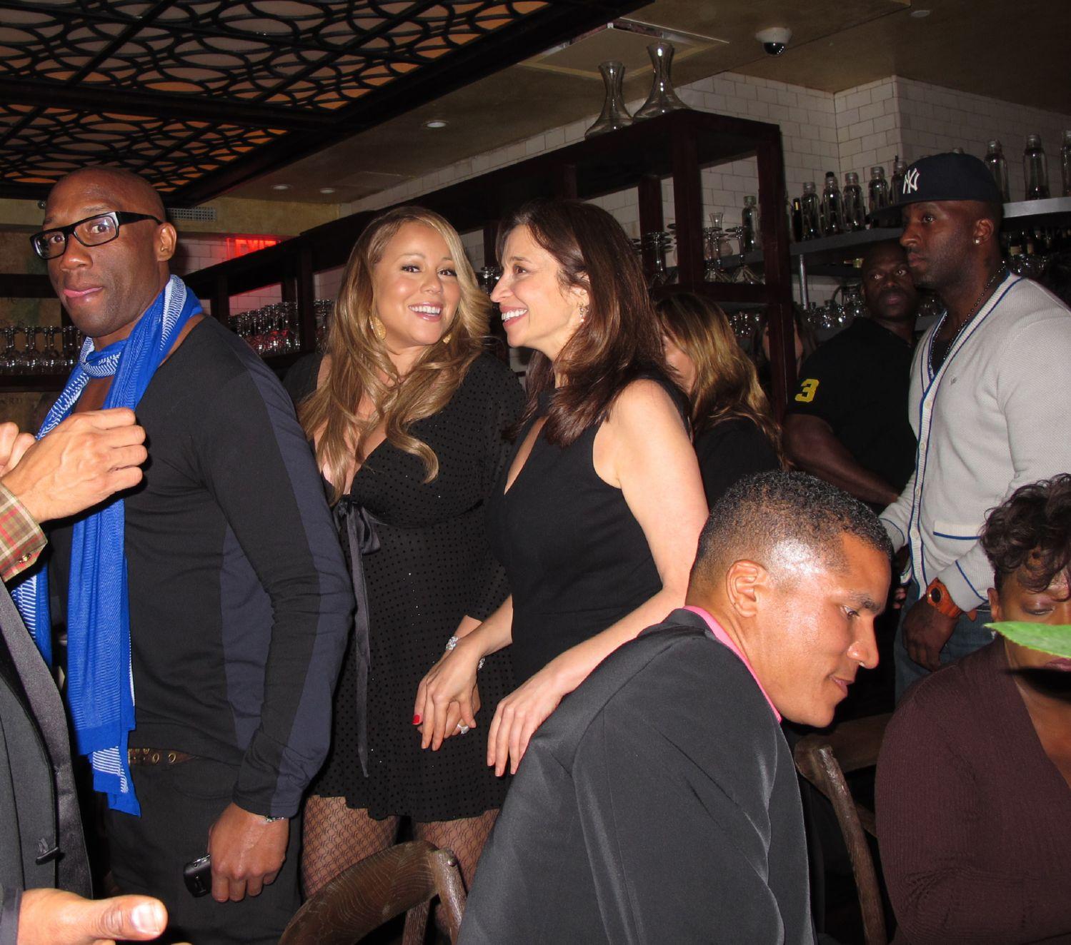 mariah5 Hot Shots: Mariah Carey Celebrates Nick Cannons Birthday In NYC