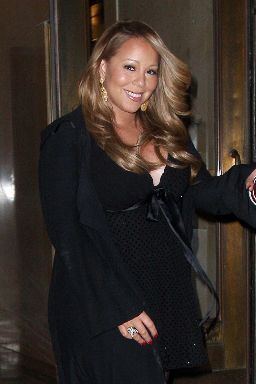 mariah6 Hot Shots: Mariah Carey Celebrates Nick Cannons Birthday In NYC
