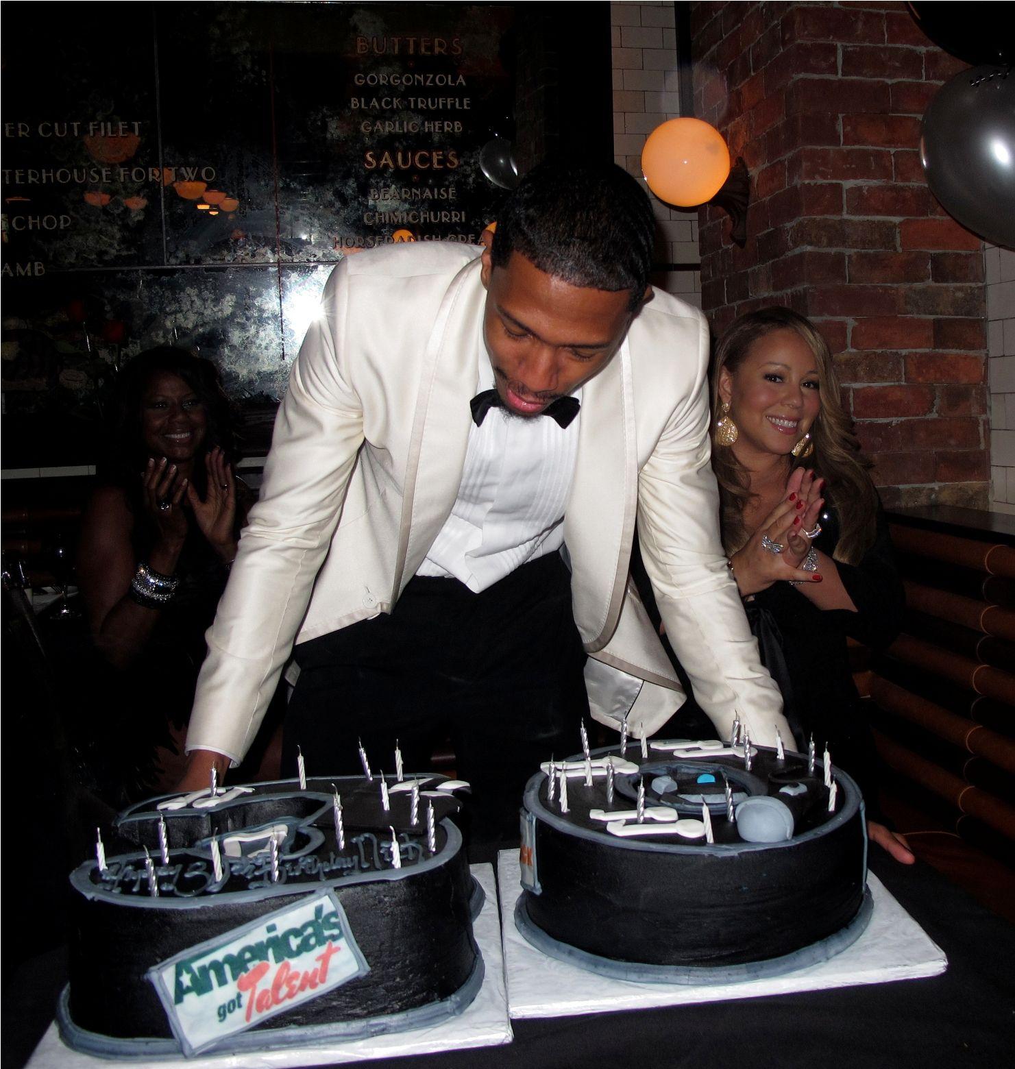 mariah7 Hot Shots: Mariah Carey Celebrates Nick Cannons Birthday In NYC