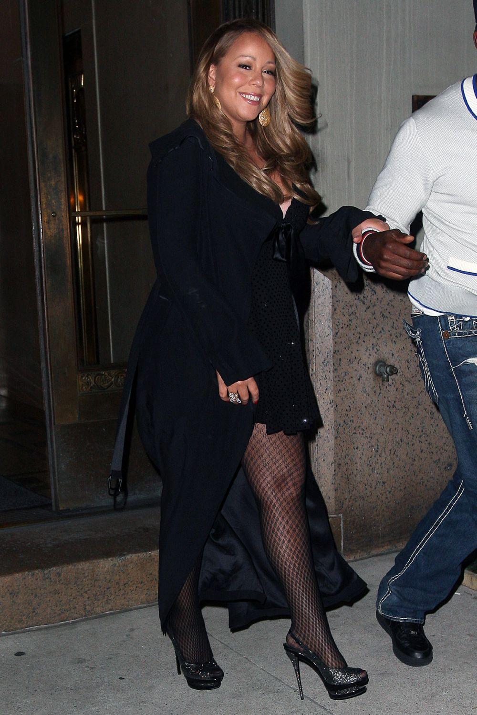 mariah8 Hot Shots: Mariah Carey Celebrates Nick Cannons Birthday In NYC