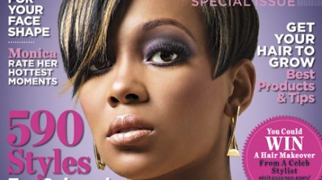 Monica Covers Essence's 'Hot Hair' Issue