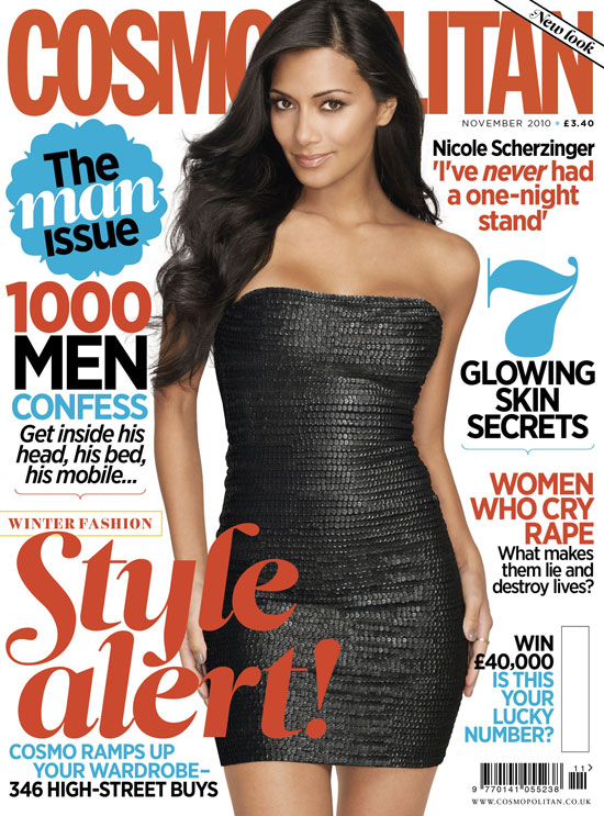 nicolescherzinger Hot Shot: Nicole Scherzinger Covers Cosmopolitan UK
